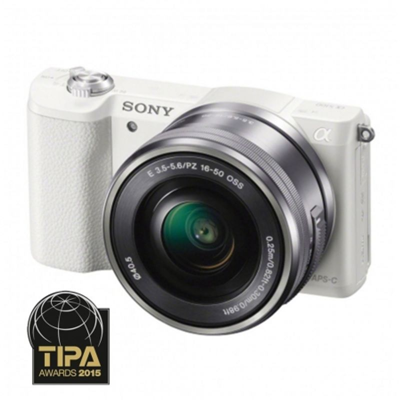 sony-alpha-a5100-ilce-5100l-w--alb-sel16-50mm-e-mount--20-1mp-wifi-nfc-fullhd-rs125014193---66997-786