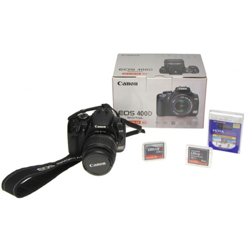 canon-eos-400d-kit-ef-s-18-55mm-filtru-hoya-polarizare-circulara-58mm-11710