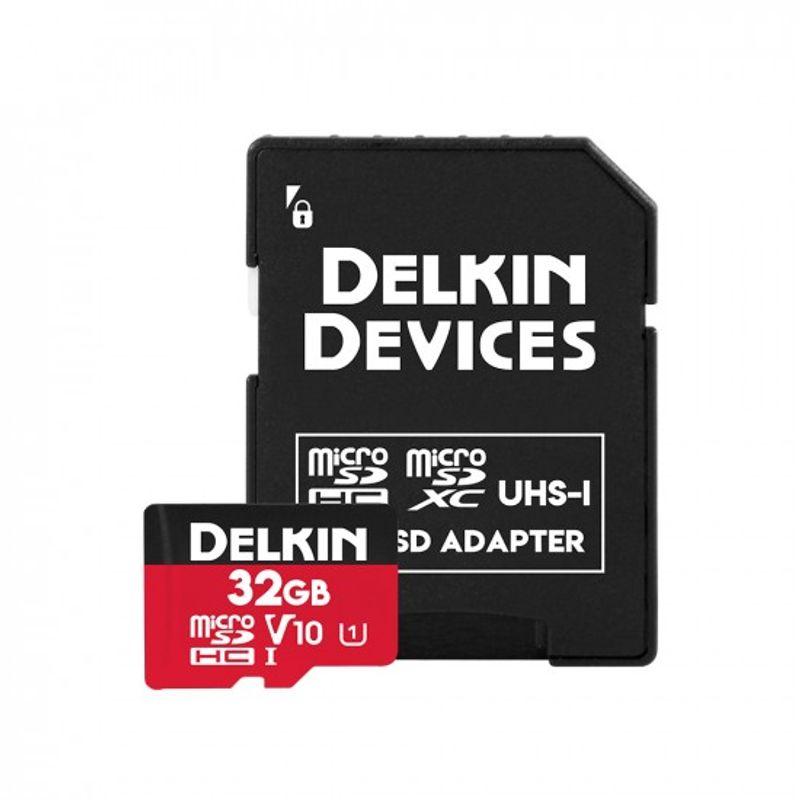 Delkin-Select-32GB-Card-de-Memorie-MicroSDHC-UHS-I-660X-V10-2