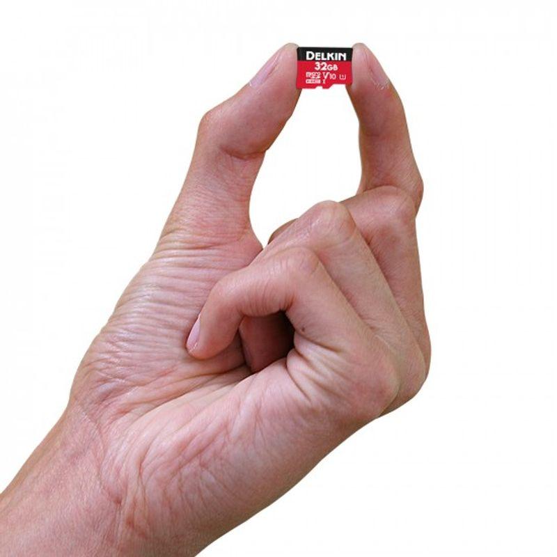 Delkin-Select-32GB-Card-de-Memorie-MicroSDHC-UHS-I-660X-V10-4