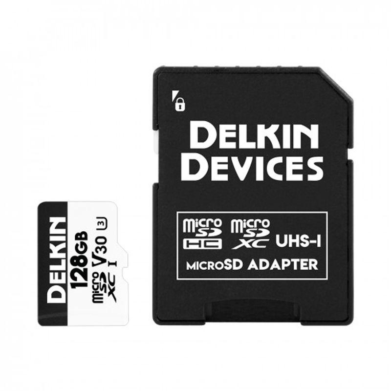 Delkin-Advantage-128GB-Card-de-Memorie-MicroSDXC-UHS-I-660X-V30-2