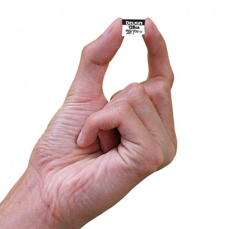 Delkin-Advantage-128GB-Card-de-Memorie-MicroSDXC-UHS-I-660X-V30-3