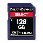 Delkin-Select-128GB-Card-de-Memorie-SDXC-UHS-I-660X-V30