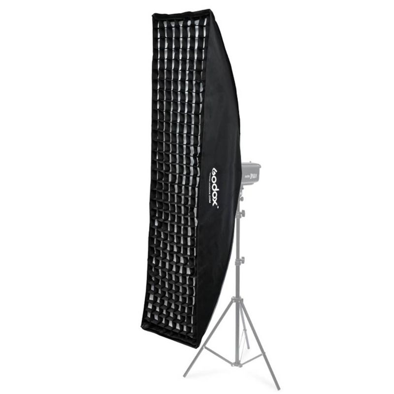 Godox-35-x-160cm-14-x-63-Honeycomb-Grid-Rectangle-Softbox-for-Hensel-Studio-Flash-Light