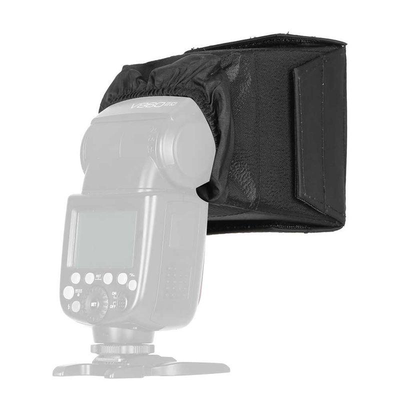 GODOX-SB1010-10-10cm-Softbox-Universal-Folding-Speedlight-Softbox-Flash-Diffuser-Camera-Speedlite