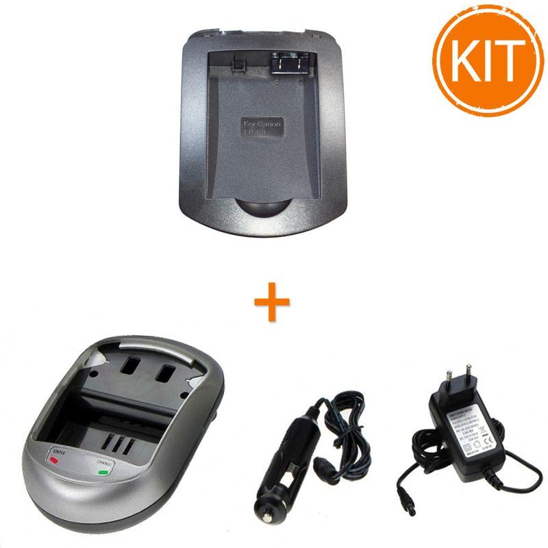 Kit-Incarcator-replace-tip-AVP813-pentru-Canon-LP-E8