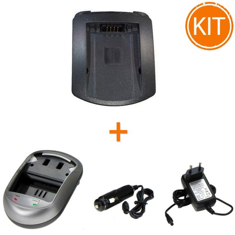 Kit-Incarcator-Power3000-pentru-acumulator-Panasonic-tip-DMW-BM7-CGR-S006---Bonus-adaptor-auto