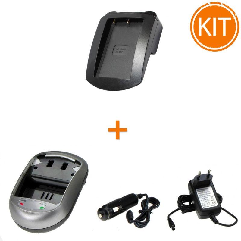 Kit-Incarcator-Power3000-pentru-acumulator-Nikon-tip-EN-EL9--Bonus-adaptor-auto