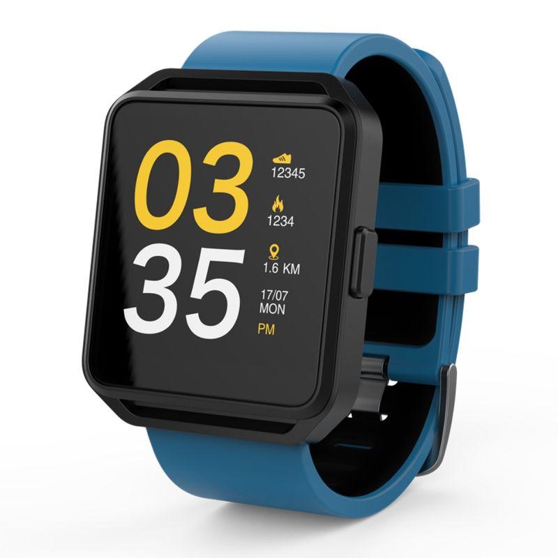 Smartwatch-MaxCom-FitGo-FW15-Square-bratara-silicon-Blue-2