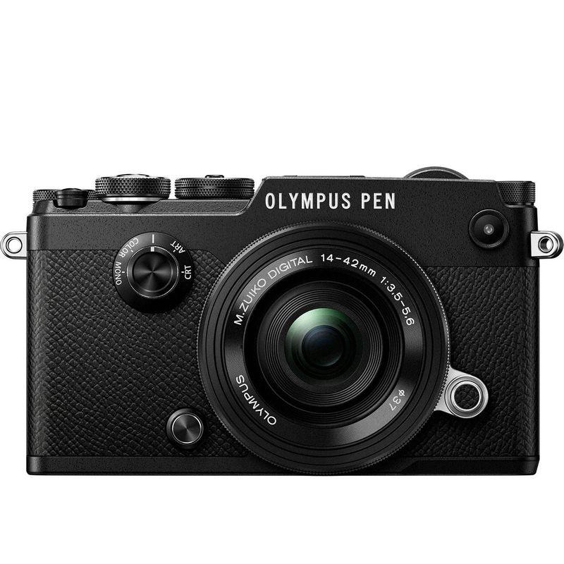 125024606-Olympus-PEN-F-kit-Pancake-14-42mm-Negru--3-