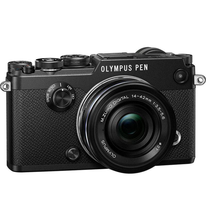 125024606-Olympus-PEN-F-kit-Pancake-14-42mm-Negru--1-