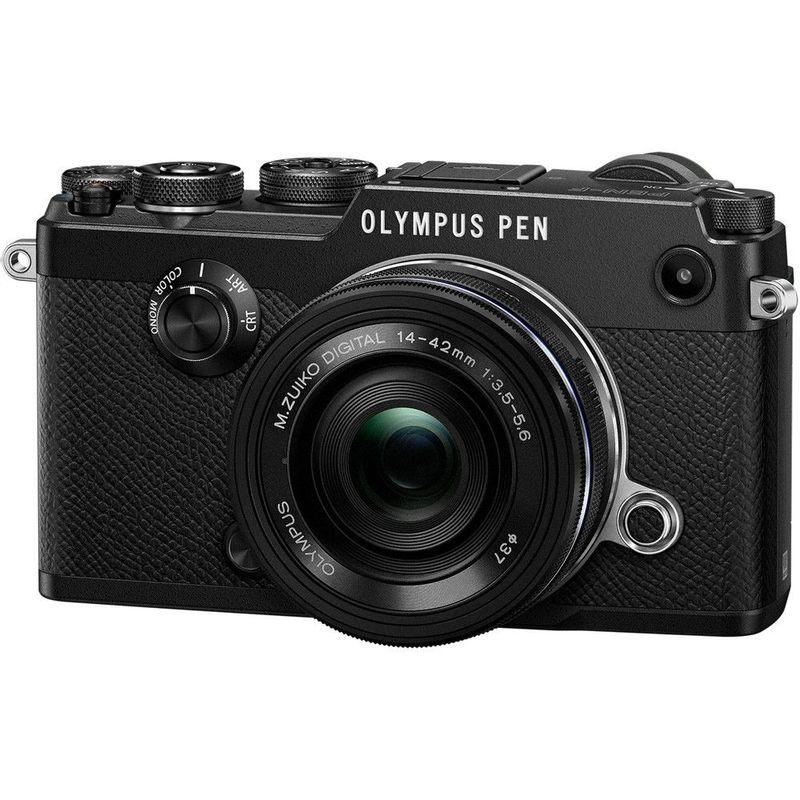 125024606-Olympus-PEN-F-kit-Pancake-14-42mm-Negru--5-