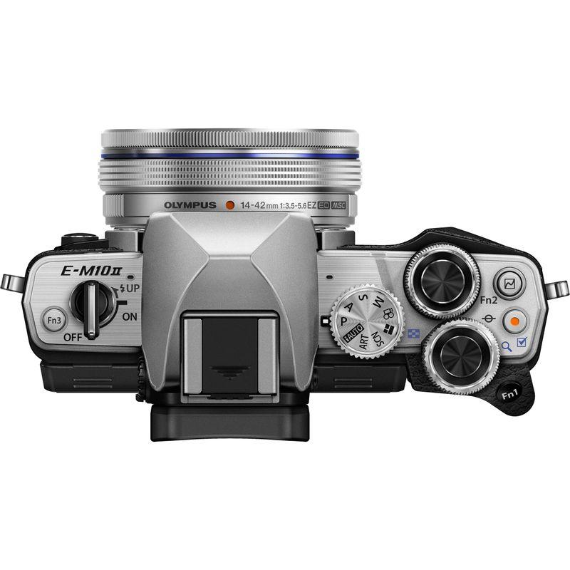 Olympus-OM-D-E-M10-Mark-II-kit-14-42-silver--14-