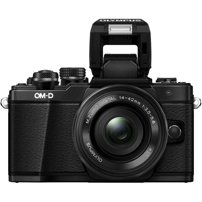 Olympus-OM-D-E-M10-Mark-II-Aparat-Foto-Mirrorless-16MP-kit-Negru--1-