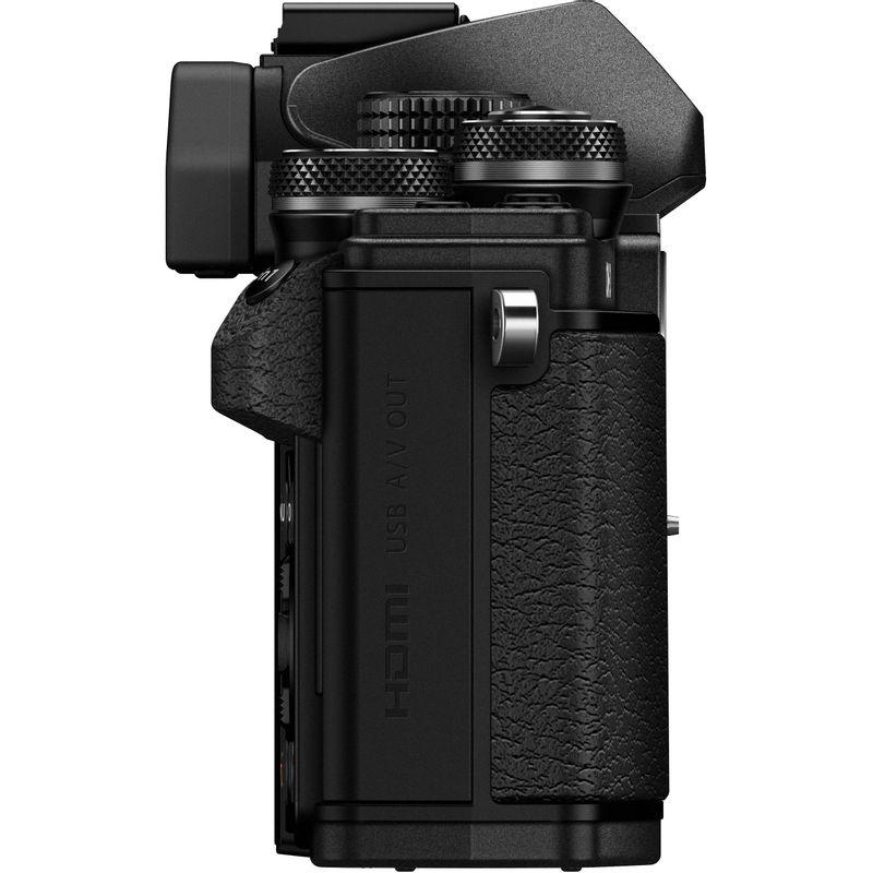 Olympus-OM-D-E-M10-Mark-II-Aparat-Foto-Mirrorless-16MP-kit-Negru--4-