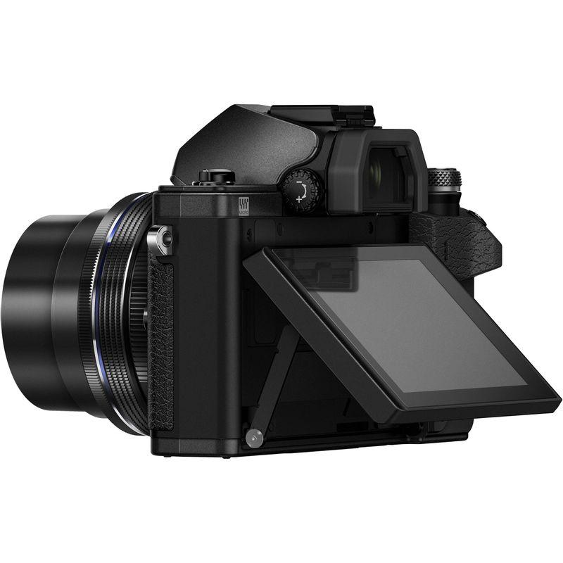 Olympus-OM-D-E-M10-Mark-II-Aparat-Foto-Mirrorless-16MP-kit-Negru--5-