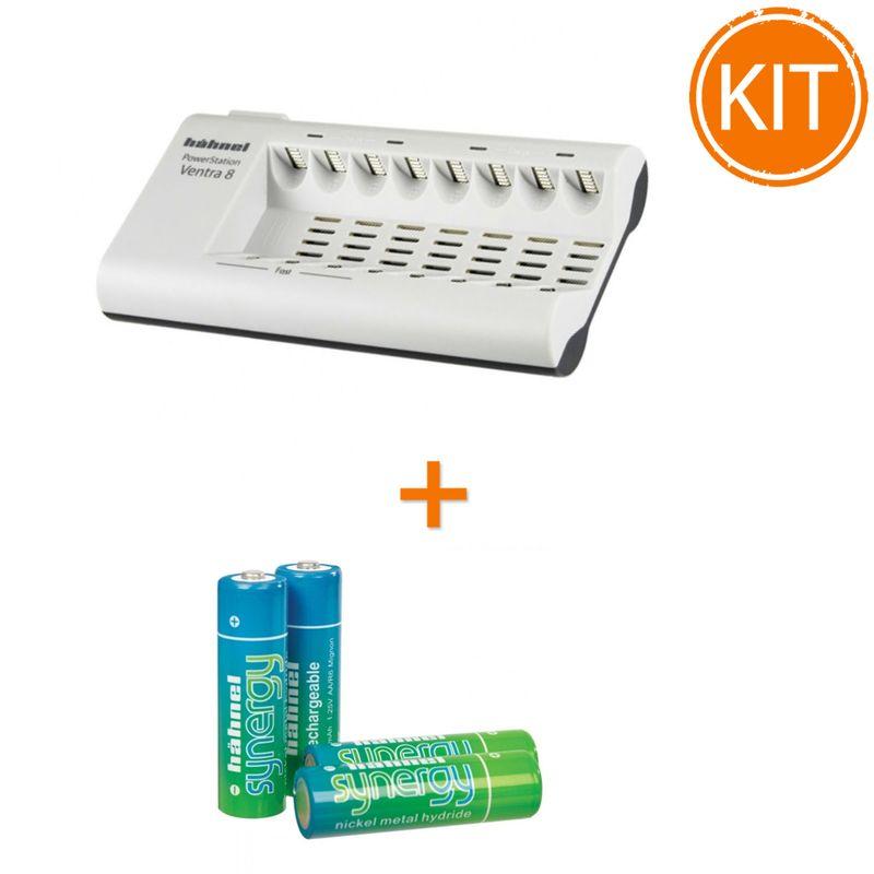 Kit-Hahnel-Powerstation-Ventra-8-incarcator-rapid-pentru----8-Acumulatori--AAA
