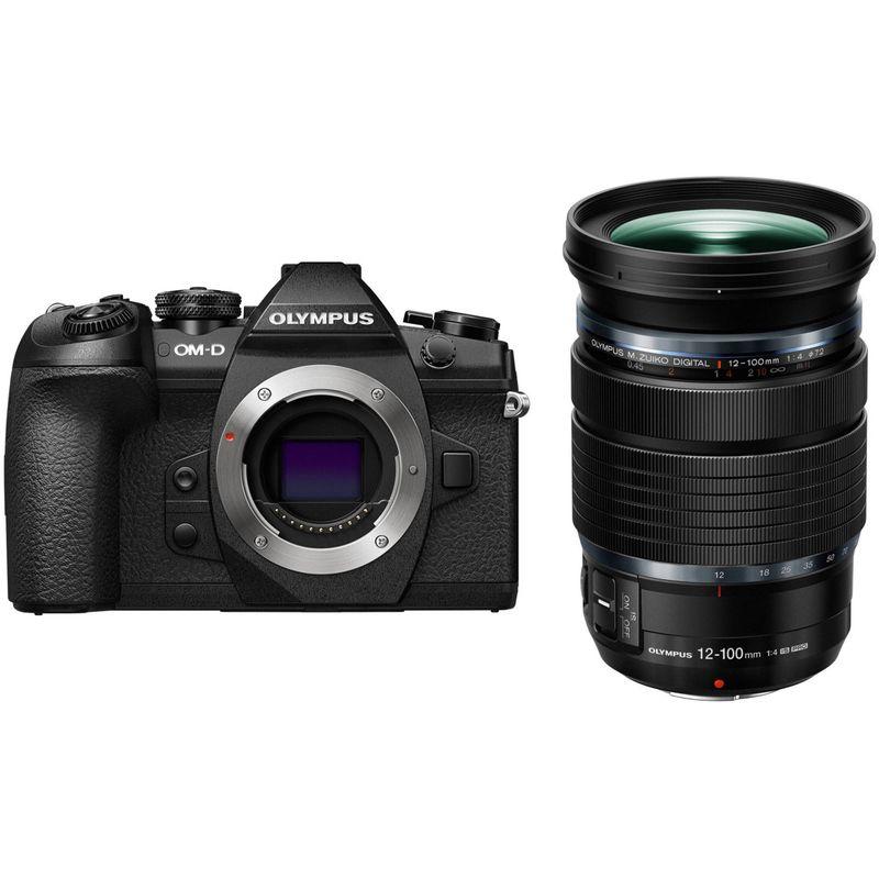 Olympus-OM-D-E-M1-MK-II-Aparat-Foto-Mirrorless-20MP-MFT-4K-Kit-cu-Obiectiv-12-100mm-f4-IS-PRO-Negru---20