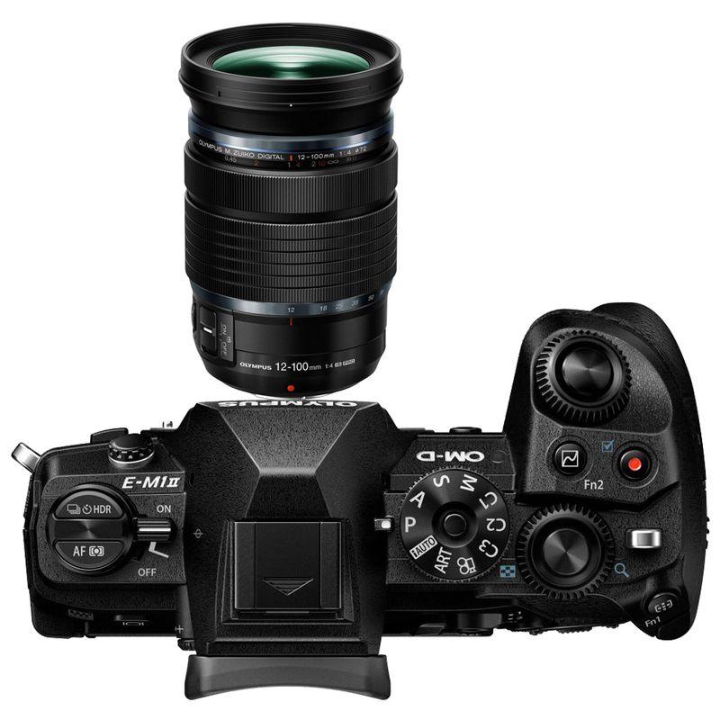 Olympus-OM-D-E-M1-MK-II-Aparat-Foto-Mirrorless-20MP-MFT-4K-Kit-cu-Obiectiv-12-100mm-f4-IS-PRO-Negru---21-1-