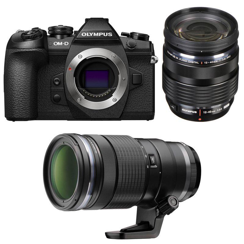 Olympus-OM-D-E-M1-MK-II-Aparat-Foto-Mirrorless-20MP-MFT-4K-Kit-cu-Obiectiv-12-40mm-F2.8-si-40-150mm-F2.8-PRO-Negru---06