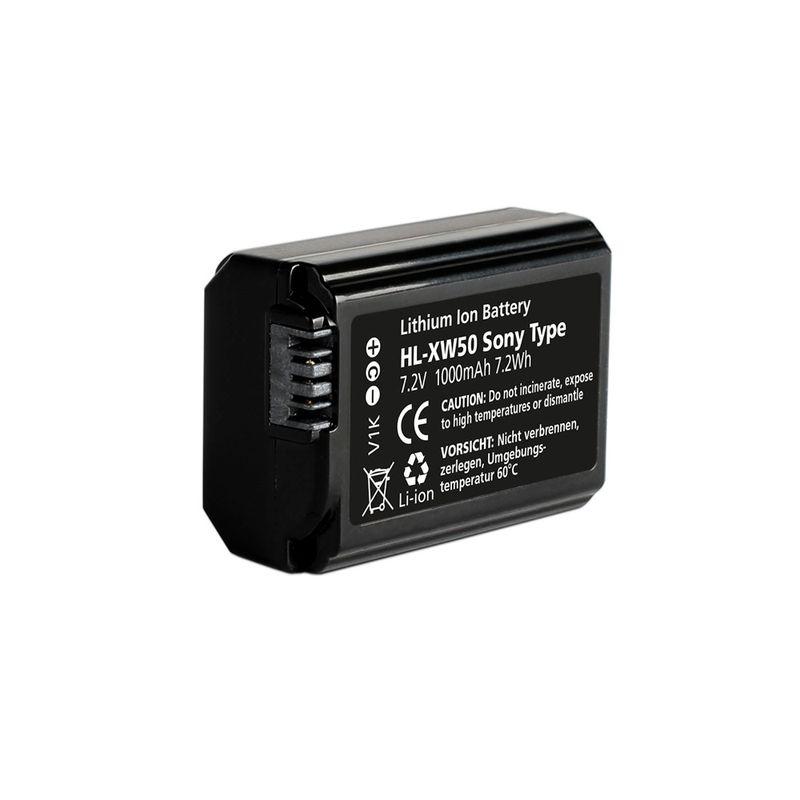 Hahnel-HL-XW50---acumulator-replace-tip-NP-FW50-pt-Sony-NEX