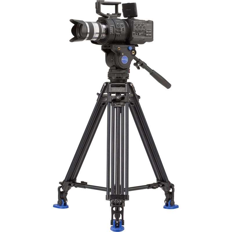 Benro-BV6-Pro-Video-Kit-Trepied-si-Cap-Video.2