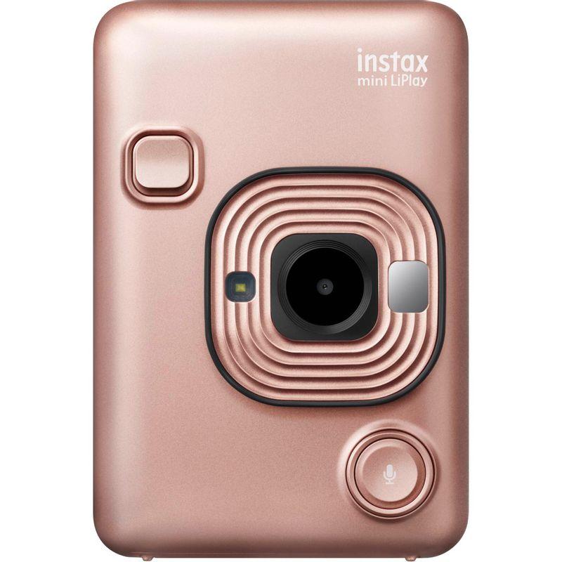 Fujifilm-Instax-Mini-LiPlay-Aparat-Foto-Instant-Blush-Gold