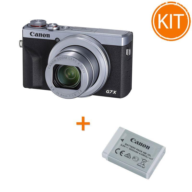 Kit-Canon-PowerShot-G7-X-Mark-III-----Acumulator-Canon-NB-13L
