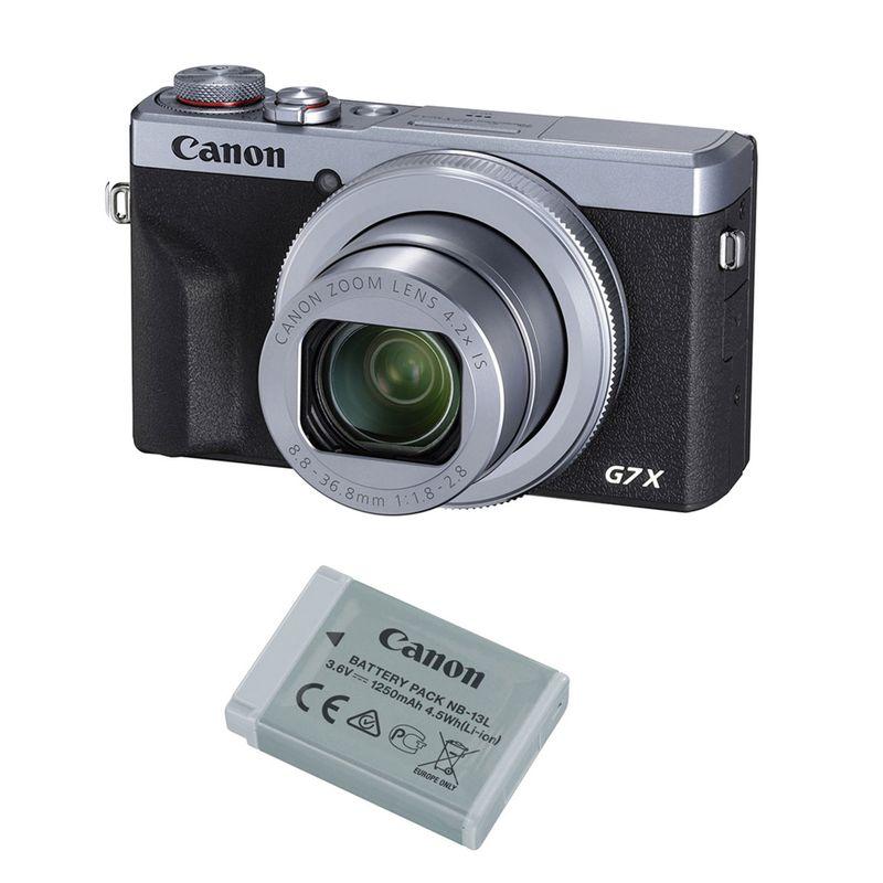 Canon-PowerShot-G7-X-Mark-III-Kit-cu-Acumulator-Negru