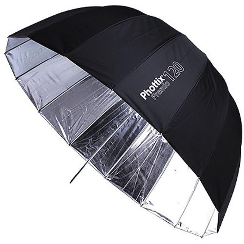 Phottix-Premio-Umbrela-Reflectoare-120cm-SilverBlack