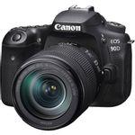 Canon EOS 90D Aparat Foto DSLR 32.5MP 4K Kit cu Obiectiv 18-135mm IS Nano USM