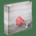 Hama-Rustico-Memo-Album-200-Fotografii-10x15-cm-Metal-Heart