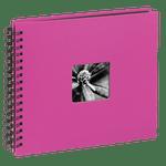 Hama-Fine-Art-Album-Foto-cu-Spirala-50-Pagini-Negre-28-x-24cm--Roz