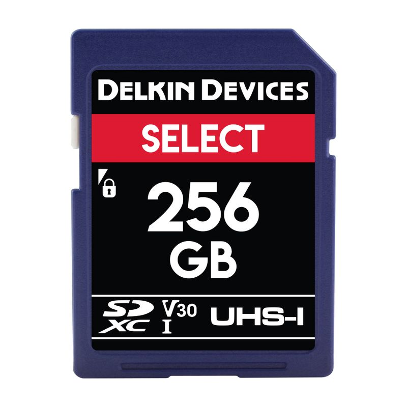 Delkin-SD-RED-Select-256GB_Front