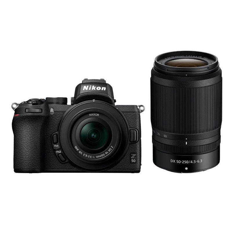 Nikon-Z-50-kit-16-50-DX---50-250-DX