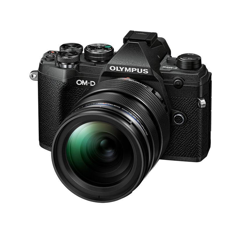 Olympus-OM-D-E-M5-Mark-III-Aparat-Foto-Mirrorless-MFT-Kit-cu-Obiectiv-12-40mm-f--2.8-PRO-NegruNegru