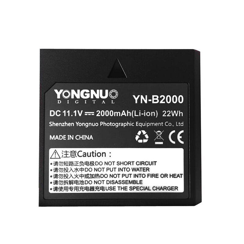 Yongnuo-YN-B2000-2000mAh-Spare-Rechargeable-Li-ion-Battery-for-Speedlite-YN686EX-RT-Flash-Light-YN686