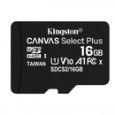 Kingston Canvas Select Plus Card MicroSD 16GB Class 10 A1