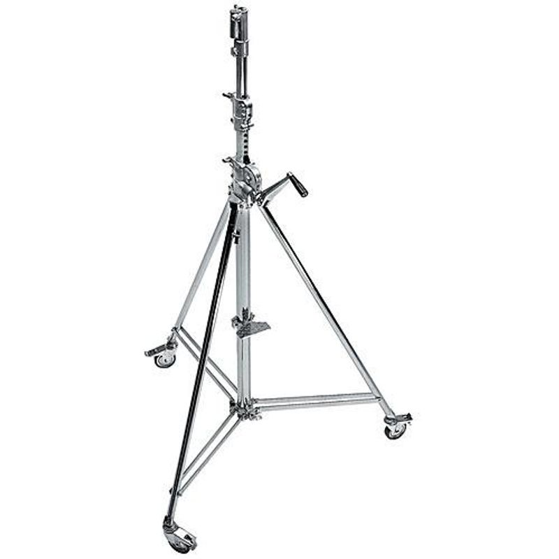 Manfrotto-Avenger-Wind-Up-39-Stativ-Lumini-390cm
