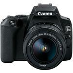Canon EOS 250D Kit cu Obiectiv EF-S 18-55mm DC Negru
