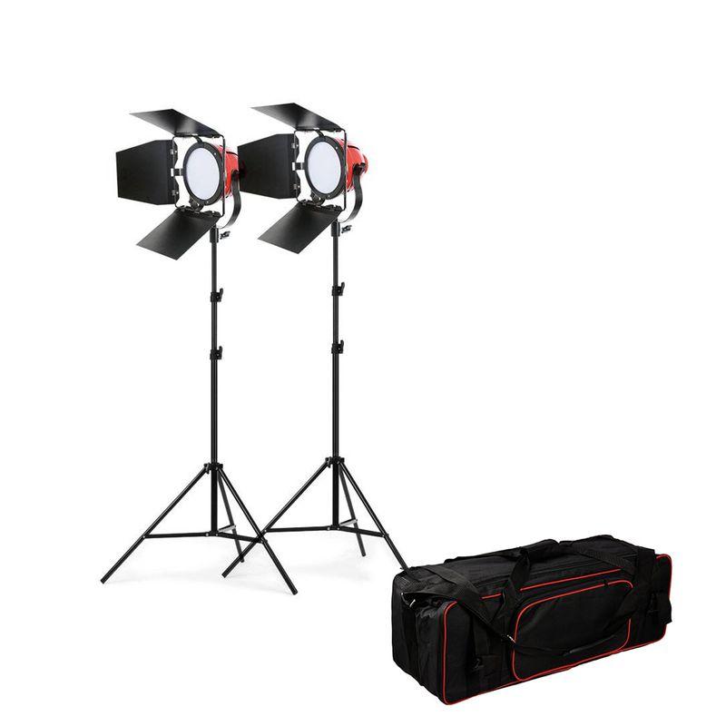Kathay-LED-Red-Head-Light-Kit-2-Mandarine-Led-cu-Stative-si-Husa