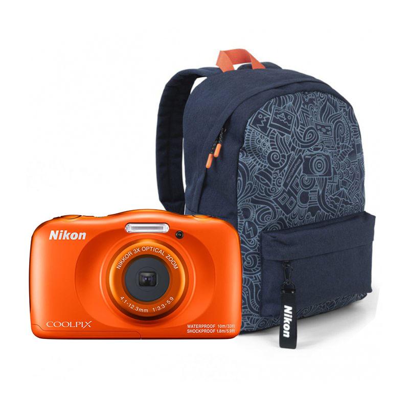 Nikon-Coolpix-W150-Aparat-Foto-Compact-Subacvatic-Orange