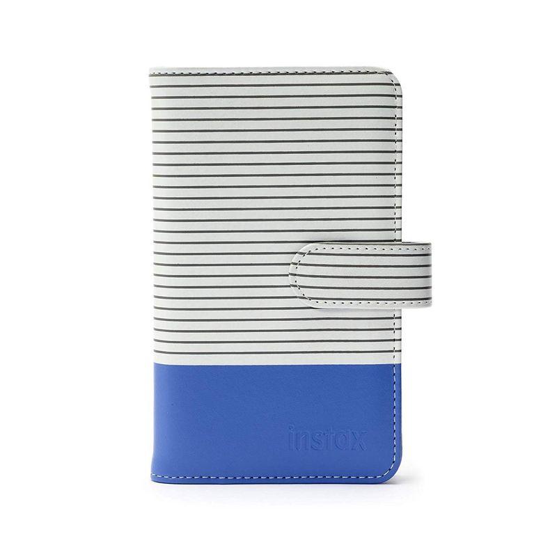 Fujifilm-Instax-La-Porta-Mini-Striped-Album-Foto-Cobalt-Blue