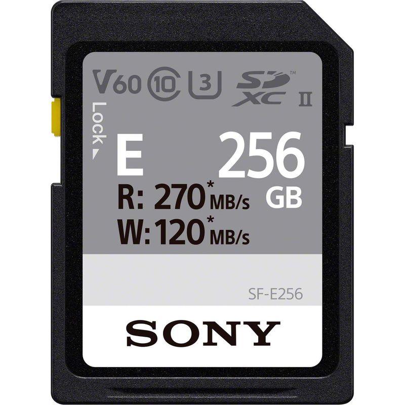 Sony-Seria-SF-E-Card-de-Memorie-SD-256GB-UHS-II-Class-10-V60