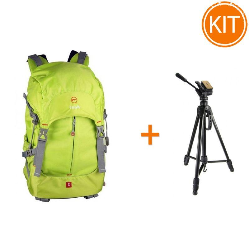 Kit-Fancier-Rucsac-Foto-Video-Nest-Explorer-300-L-Green---Fancier-WT3716-Trepied-foto-Video