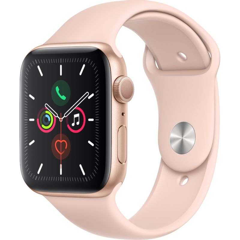 Apple-Watch-Series-5-GPS-44mm-Gold-Aluminium-Case-with-Pink-Sand-Sport-Band---SM---ML--2-