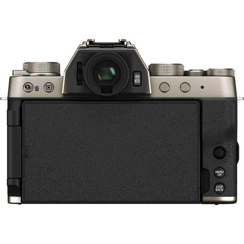 Fujifilm-X-T200-Aparat-Foto-Mirrorless-24.2-MP-Kit-cu-Obiectiv-15-45mm-Champagne-Gold