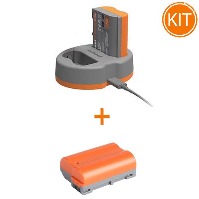 Kit-Hahnel-Extreme-Power-cu-acumulator-HLX-EL15HP---Acumulator-pentru-Nikon-HLX-EL15HP