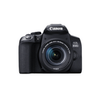 Canon EOS 850D Aparat Foto DSLR 24.1MP Kit cu Obiectiv EF-S 18-55mm F/3.5-5.6 IS STM Negru