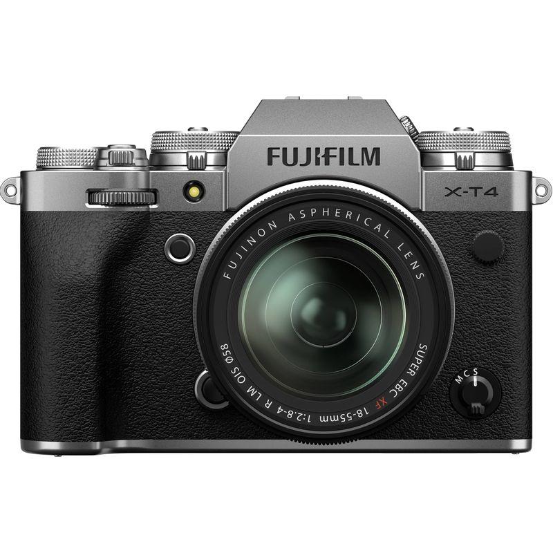 Fujifilm-X-T4-Aparat-Foto-Mirrorless-Kit-cu-Obiectiv-18-55-mm-F2.8--4-Argintiu